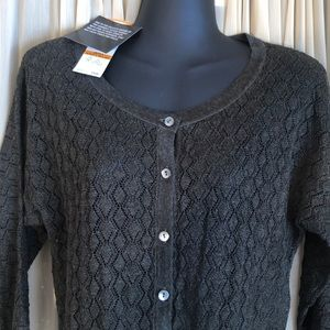 NWT Jones NY Sweater Shrug Cardigan Small